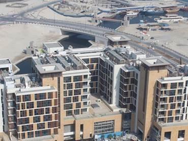 Dubai Properties Dubai Wharf development in Culture Village more than 70 percent complete