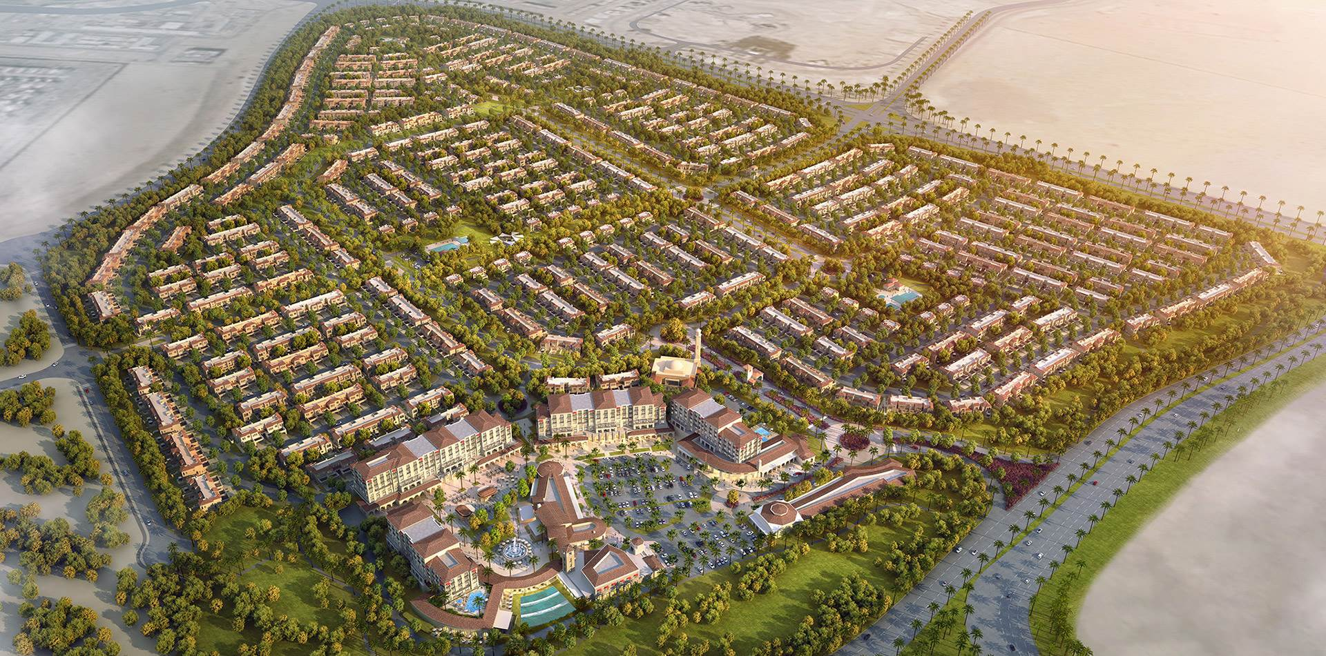 Serena by Dubai Properties Scale Model