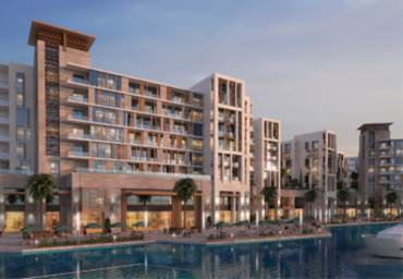 Dubai wharf luxury apartments