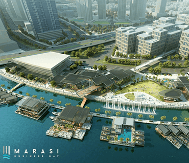 "Dubai Holding unveils ""Marasi Business Bay,"" an over  AED one billion waterfront destination along the Dubai Creek"