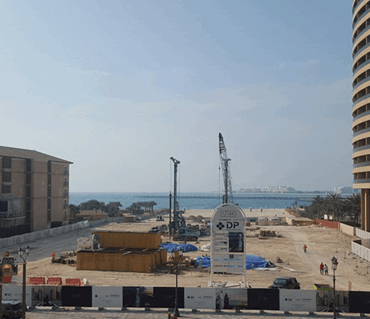 Dubai Properties begins enabling and piling of iconic 1/JBR