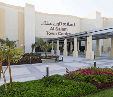 Al Salam town centre officially opens at Mudon